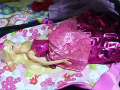Cum on Barbie Doll