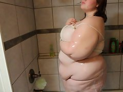 Lewd Babe BIG BELLY SHOWER