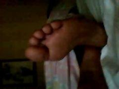 my sister feet