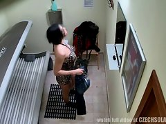 VOYEUR Natural Footage from a SPY CAMERA in Solarium