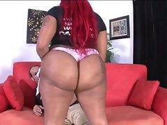 Big naughty butt cock sucking