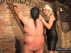 Caning a Plump Slave