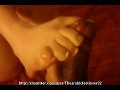 Love screwing amina's soles.