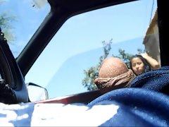 FLASHING MY Prick ON CAR
