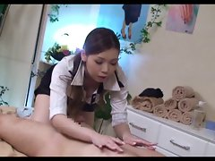Blouse Collar Up Massage Lady