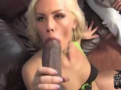 Whore better half banged by ebony doctor in front of cuckold