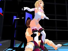 3D mixed wrestling