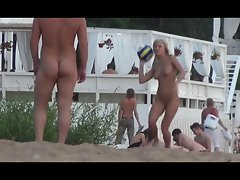 Candid Nude Beach (Volleyball)