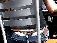 Sdruws2 - Panty thong at the coffee shop