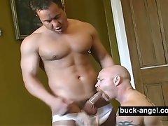 Muscled Transman Buck Angel and Rob Rodin