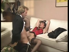 FRENCH LADY IN NYLONS (ANAL)