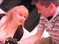 Sensual Mum n109 obese redhead experienced with a 19 years old man