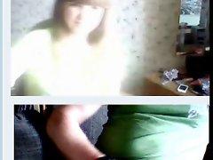 Attractive rus slutty chicks in chat