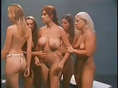 Slutty chicks prison orgy