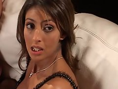 Lewd French pornstar Yasmine 1