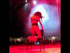 Elena - romanian erotic dancer at Eros Show Bucharest 2013