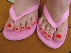 Flip Flops pinkish