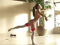 Hot Naked Ballerina