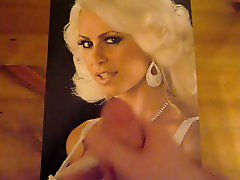 Cumming on Picture of Maryse Ouellet