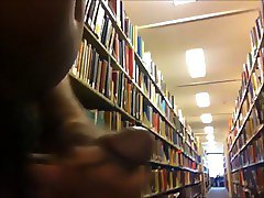 Naked in Library