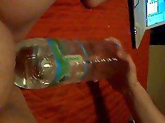 rocky fucking a water bottle