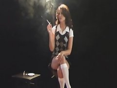 Brunette Smoking Sex