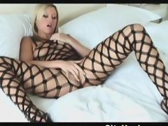 Hot Blonde Chick Memphis Monroe Poses And Pussy Lick