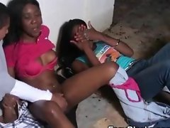 Black Amateur Ex Girlfriend Fucked In Front Of Her Friend