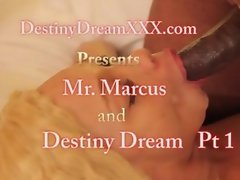 Destiny Dream fucks Mr Marcus