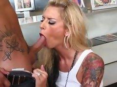 tits and tatoo- brooke banner