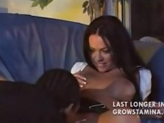 Lucky black guy fucks very cute Cherokee phB