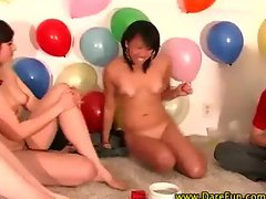 Real amateur naked party games