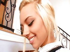 Blonde student prefers cock to books,Emma Mae