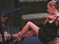 Lesbian femdom mistress likes to humiliate,Felix Vicious;Nicole Sheridan