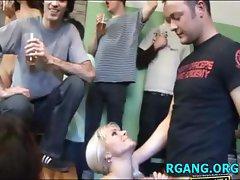 Babes love group banging