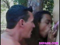 Bisexual threesome fun