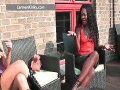 Sexy big boobs Carmen part3