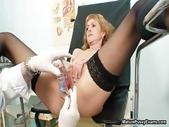 Horny milf going crazy getting her part2