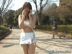Akari Hoshino Hot gangbang sex part5