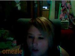 Blue Eyed Tat Girl on Omegle