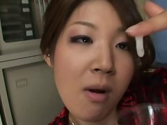 Mari Hosokawa is a sperm addict
