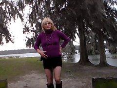 Crossdresser Outdoor New Day 2013