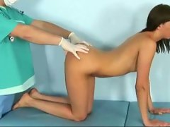 23 yo vika and horny gynecologist