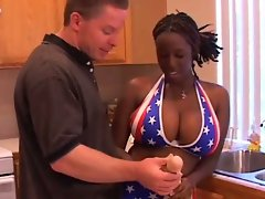 Ebony american wonder woman!