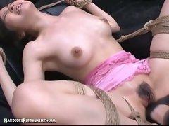 Extreme japanese bdsm punishment