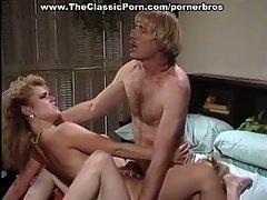 Sexy girls share a threesome fuck