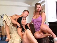 Awesome threesome with devon lee, marcus london and kira kane