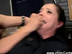 Two wet cops get ass fucked by two lucky guys