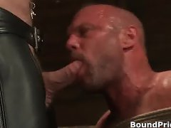 Very extreme gay BDSM free porn clips part3