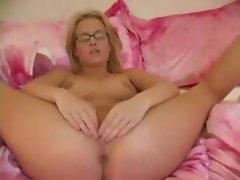 Horny Blonde Has Multiple Orgasms